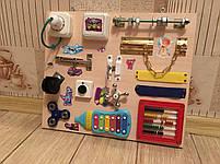 Бизиборд развивающая игра для самых маленьких busy board 35*40 см, фото 2