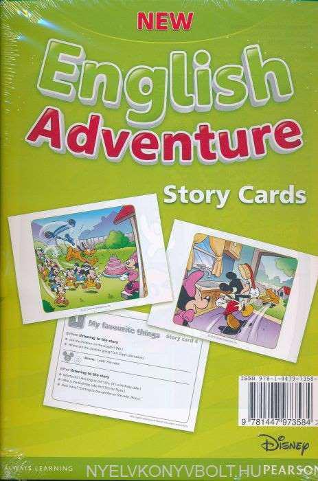New English Adventure 2 Storycards