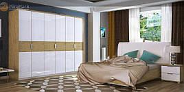 Спальня Верона (Глянец Белый / Дуб Сан Марино) (с доставкой)