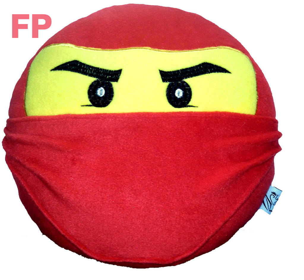 Подушка игрушка ниндзяго