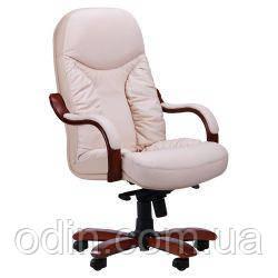 Кресло Буффало НВ коньяк Кожа Люкс комбинированная Ваниль 124705