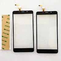 Тачскрин, сенсорныйэкран, черный цвет, для смартфона LEAGOO M8