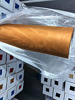 Алькантара самоклеющаяся коричневая для салона авто 152х100
