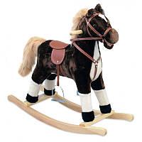 Лошадка-качалка Alexis Baby Mix с музыкой XR024 коричневый