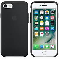 Оригинальный чехол для Apple iPhone 7 Soft Touch Черный