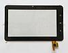 Оригинальный тачскрин / сенсор (сенсорное стекло) Assistant AP-703 | AP-703BT | AP-706 (черный, самоклейка)