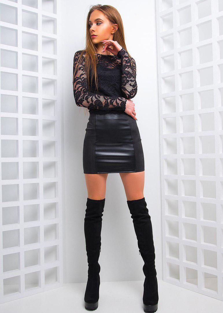 87faf8b3069 Купить красивый костюм с мини юбкой АМС-1803.072 недорого в интернет ...
