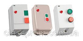 Контактор КМИ10960 9А в оболочке с индик. Ue=230В/АС3 IP54 IEK