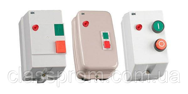 Контактор КМИ23260 32А в оболочке с индик. Ue=400В/АС3 IP54 IEK