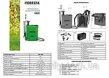 Аккумуляторный опрыскиватель Foresta BS-16М (2 в 1), фото 2