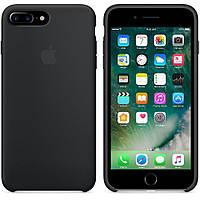 Оригинальный силиконовый чехол для Apple iPhone 7 Plus Soft Touch серый