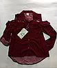 Рубашка модная для девочек от 6-7 до 12-13 лет.
