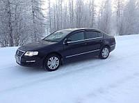 Дефлекторы окон (ветровики) Volkswagen Passat B6 2006- Код:74825110
