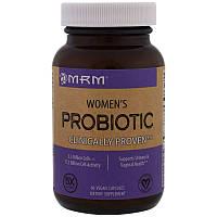 MRM, Пробиотики для женщин, 60 вегетарианских капсул,