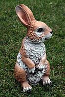 Заяц сидячий H-34см, фото 1