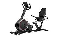 Горизонтальный велотренажер Hop-Sport HS-060L Pulse Grey