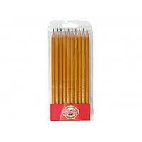 Набор карандашей графитных Koh-I-Noor 1570-10 10 шт