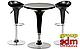 Стул барный Эприл, высокий, сиденье абс, цвет черный SDMВ02Bl, фото 2
