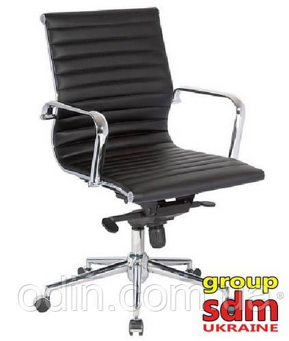 Кресло офисное Алабама M, компьютерное, цвет черный SDMМD0004B