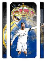 Чехол для iPhone 4/4s/5/5s/5с, Реал Мадрид, Sergio Ramos,, Испания
