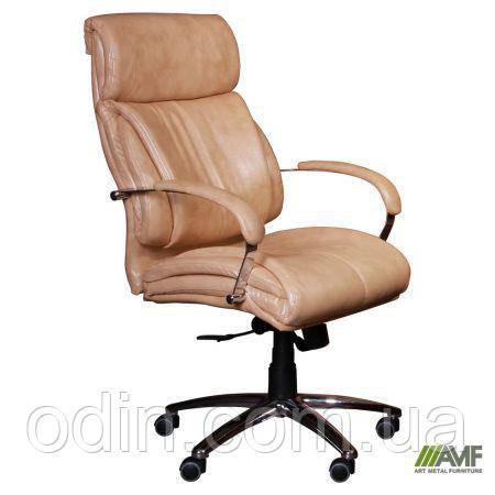 Кресло Аризона Anyfix Кожа Люкс двухсторонняя Табак 365506