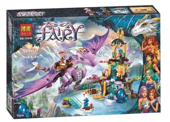 """Конструктор Bela Fairy 10549 """"Святилище драконов"""", 591 деталей. (Аналог Лего 41178)"""