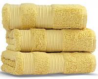 London Casual Avenue (Mood Eke Home) 70х140 пушистое полотенце  из бамбука и хлопка Light Gold