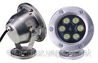 Светильник подводный  LED 12W RGB  12V размер 120мм*140мм IP68, фото 2