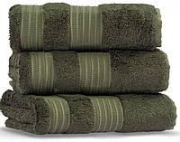London Casual Avenue (Mood Eke Home) 70х140 пушистое полотенце  из бамбука и хлопка olive