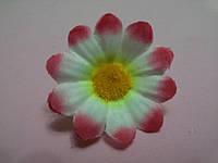 Ромашка розово-белая 4 см