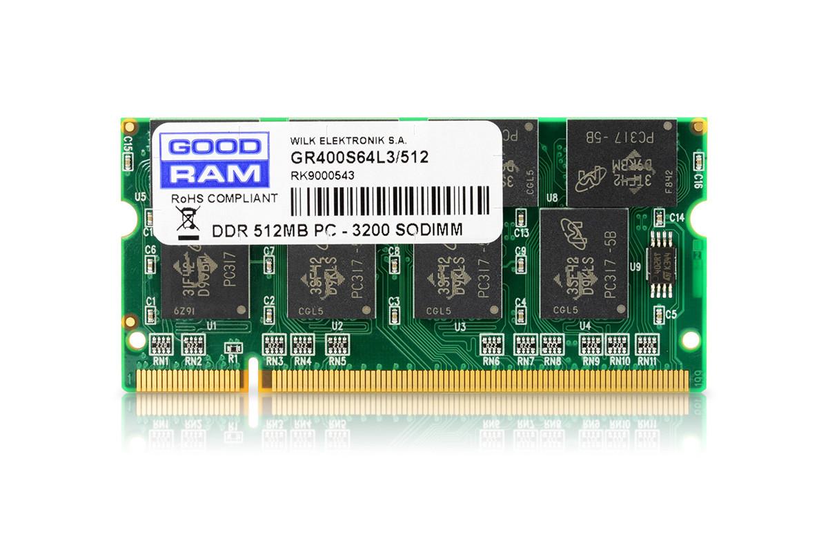 Оперативная память для ноутбука, DRR-1, 512Мб, (озу/ram)