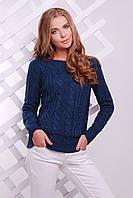 Женский вязаный свитер 15 джинс ТМ Glem 44-50 размеры