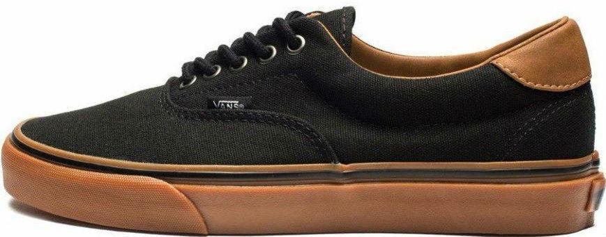 0ffa4d807538 ... Vans Era 59 Black Gum Brown кеды мужские вэнс черные-коричневые 2018  release date 2d22b ...