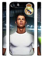 Чехол для iPhone 4/4s/5/5s/5с, Реал Мадрид, Криштиану Роналду, Испания