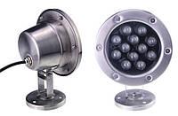 Светильник подводный  LED 12х2W  Белый  12V размер 160мм*215мм IP68