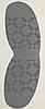 Подметка резиновая Vioptz цв. серый, фото 2