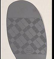 Подметка резиновая Vioptz цв. серый
