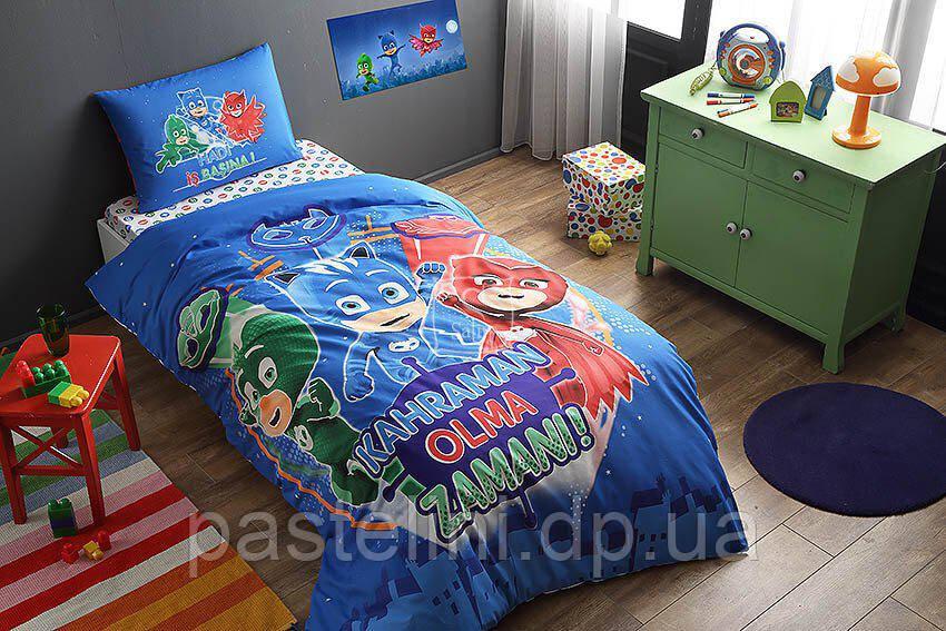 ТАС Детское постельное  PJ Masks glow (Герои в масках)люминосцентное