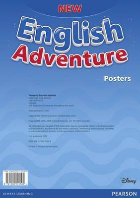 New English Adventure Starter A Posters, фото 2