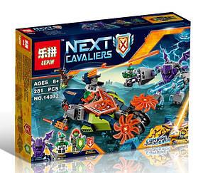 Конструктор Lepin 14032 Нексо Найтс Слайсер Аарона (аналог Lego Nexo Knights 70358)
