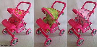 Коляска для куклы Melogo 9337 (положение сидя и лежа)
