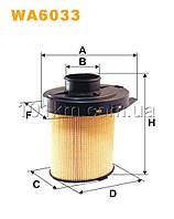 Фильтр воздушный WIX WA6033 (AK 246)