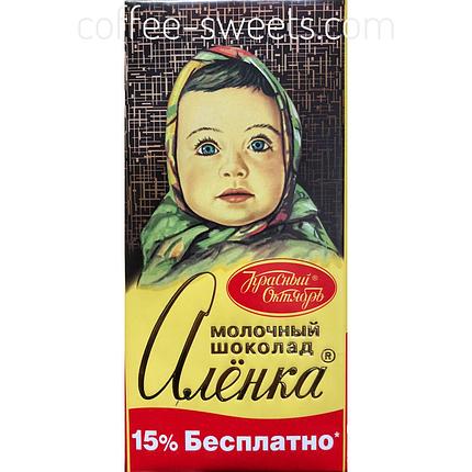Шоколад Красный Октябрь Аленка 200г, фото 2
