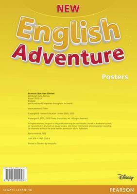 New English Adventure Starter B Posters, фото 2