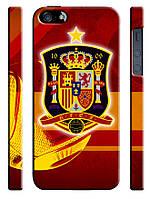 Чехол для iPhone 4/4s/5/5s/5с, Сборная Испании