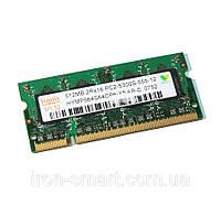 Оперативная память, ОЗУ, RAM, SODIMM, DDR-2 512 Мб, для ноутбука, фото 1
