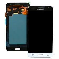 Дисплей модуль Samsung J320H/DS Galaxy J3 (2016) #GH97-18414A в зборі з тачскріном, білий