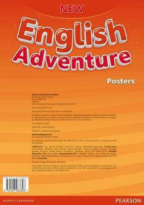 New English Adventure 2 Posters, фото 2