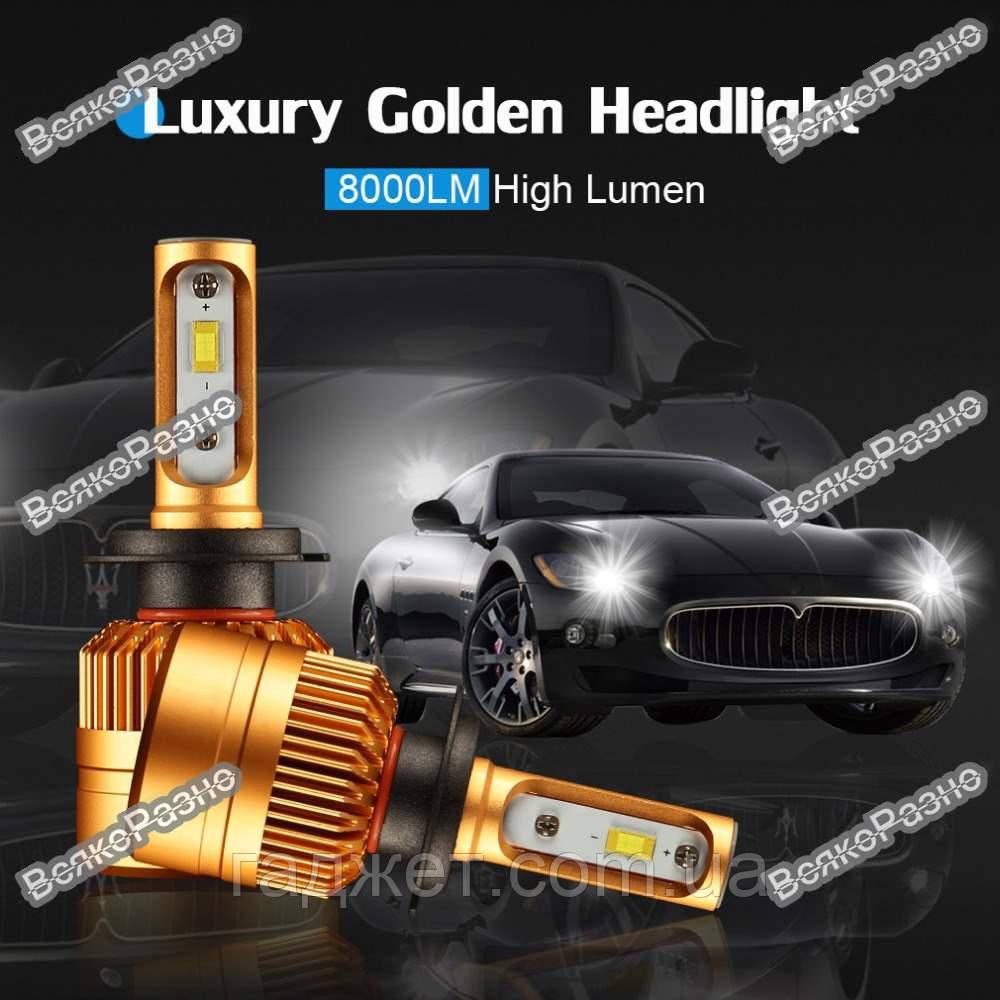 LED лампы  для авто с чипом Philips1515/1313 H7, светодиодные лампы для автомобиля