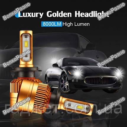 LED лампы  для авто с чипом Philips1515/1313 H7, светодиодные лампы для автомобиля, фото 2